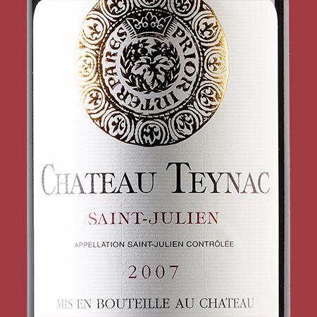 etiketa Chateau Teynac St. Julien