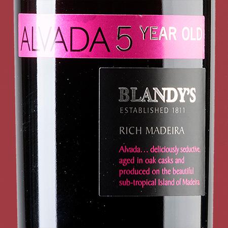 etiketa Alvada Blandys