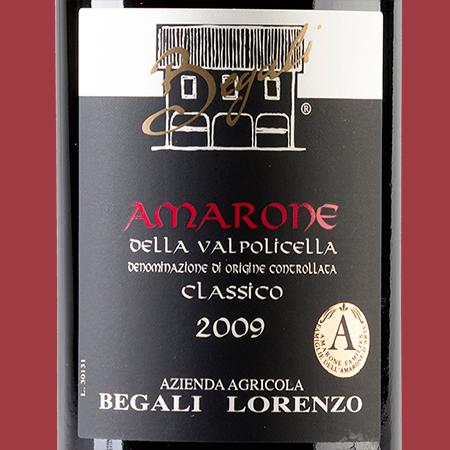etiketa Amarone Begali Lorenzo