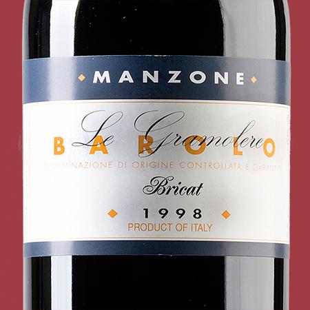 etiketa Barolo Bricat Manzone