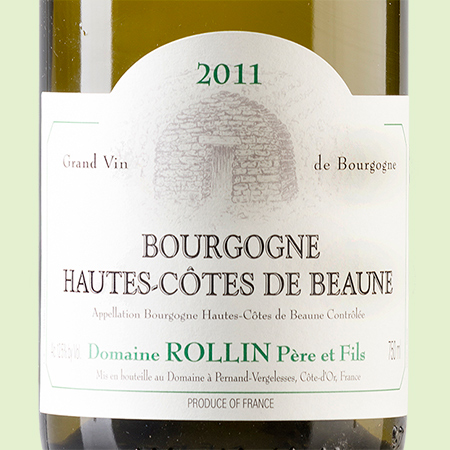 etiketa Bourgogne Hautes Cotes Rollin