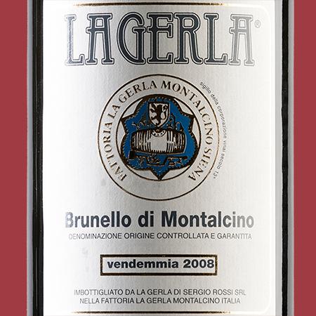 etiketa Brunello di Montalcino DOCG