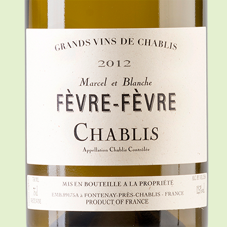 etiketa Chablis Fevre