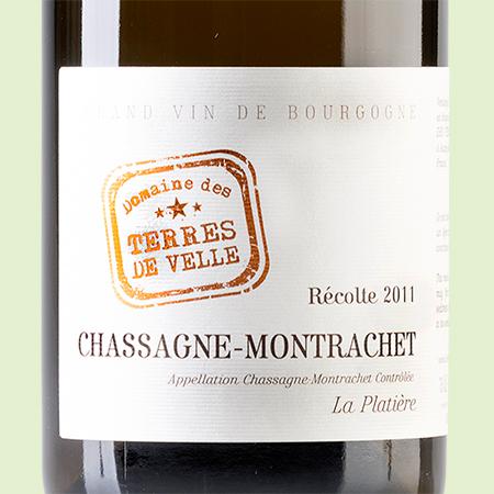 etiketa Chassagne Montrachet La Platiére