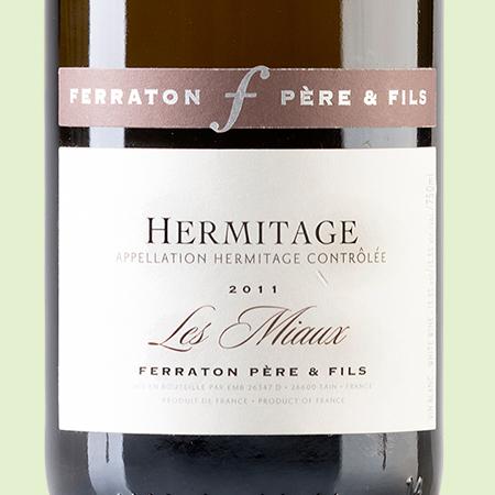 etiketa Ermitage Les Miaux Blanc