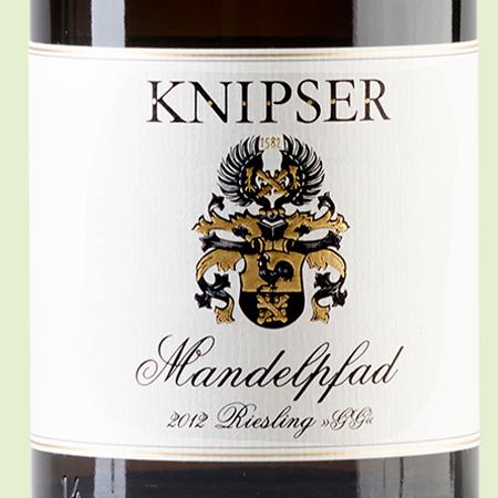 etiketa Riesling Mandelpfad