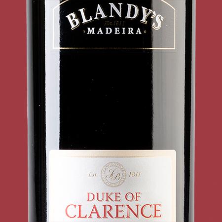 etikety Duke of Clarence Blandys