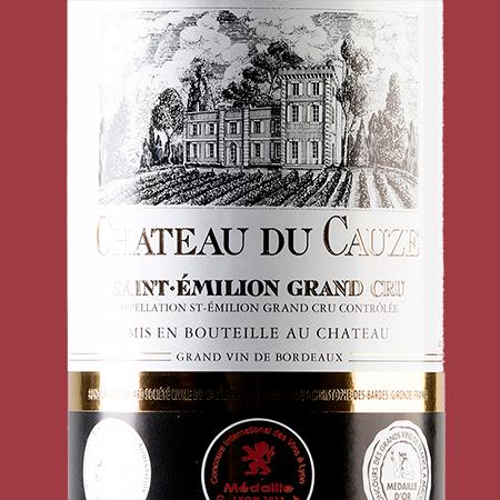 etiketa Chateau Tour du Cauze St. Emilion Grand Cru
