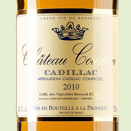 etiketa Chateau Cousteau Cadillac