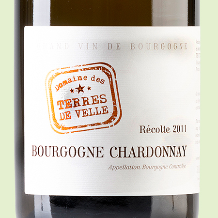 etiketa Bourgogne Chardonnay AOC