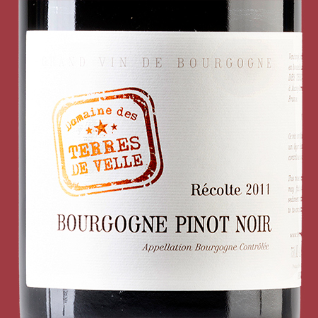 etiketa Bourgogne Pinot Noir AOC