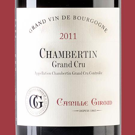 etiketa Chambertin