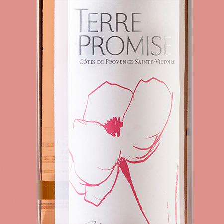 etiketa Cotes de Provence St. Victoire