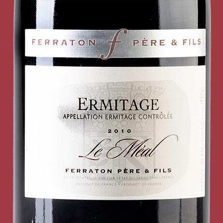 etiketa Ermitage Le Méal Rouge