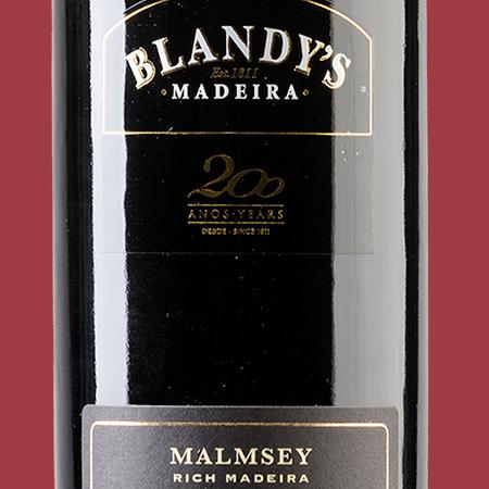 etiketa Malmsey 10 YO