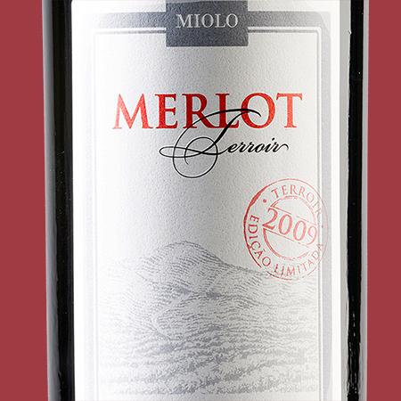 etiketa Merlot Terroir