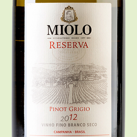 etiketa Pinot Grigio Family Vineyards Reserve
