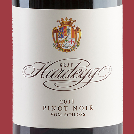 etiketa Pinot Noir vom Schloss 2011