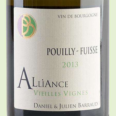etiketa Pouilly Fuissé Alliance
