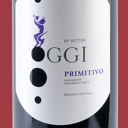 etiketa Primitivo OGGI 2014
