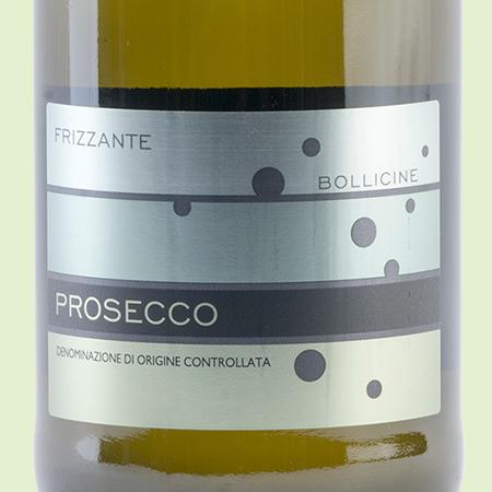 etiketa Prosecco Frizzante DOC Bollicine