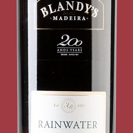 etiketa Rainwater Blandys