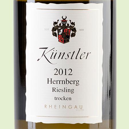 etiketa Riesling Hochheimer Herrnberg