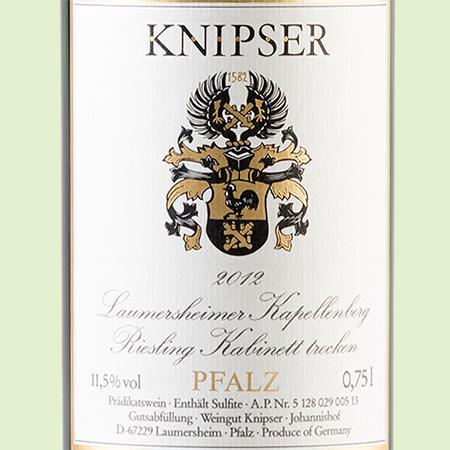 etiketa Riesling Kapellenberg
