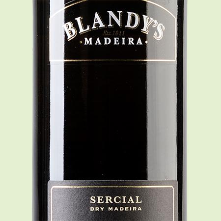 etiketa Sercial 10 YO Blandys