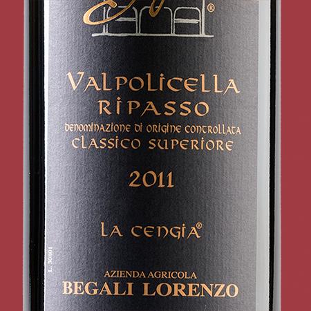 etiketa Valpolicella Ripasso Begali